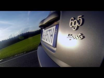 Le meilleur de l'Abarth 695 Biposto en vidéo