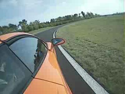 Essai circuit Lamborghini Gallardo