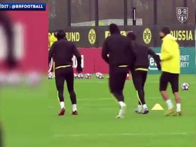 Borussia Dortmund - PSG : quand Haaland imite Ronaldo !