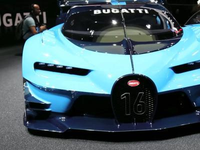 Francfort 2015 : Bugatti Vision Gran Turismo