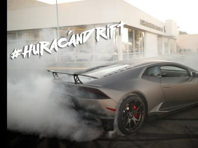 Un gymkhana en Lamborghini Huracan, c'est possible