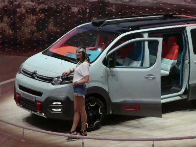 Genève 2016 : Citroën Spacetourer Hyphen