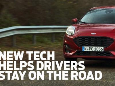Road Edge Detection - l'innovation Ford qui vous garde sur la route