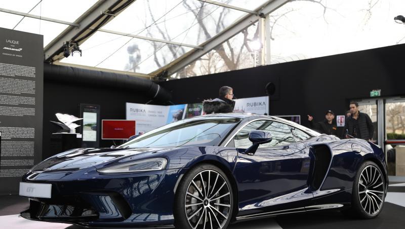 McLaren GT : la belle anglaise à Paris