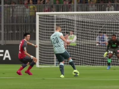 LOSC - AS Monaco sur FIFA 20 : résumé et buts (L1 - 30e journée)