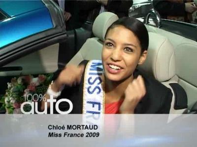 Miss France 2009 à bord de sa 207 CC