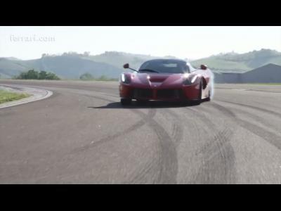 Nouvelle vidéo de LaFerrari sur le circuit de Maranello