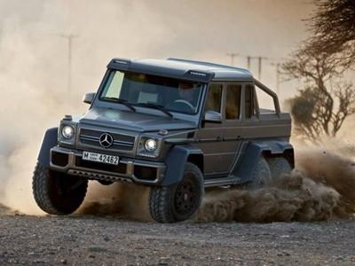 Les images vidéos du Mercedes G63 AMG 6X6