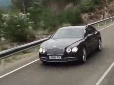 La Bentley Flying Spur en vidéo