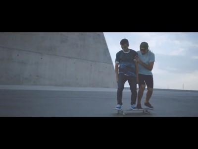 Skate Fortwo par Kilian Martin et Alfredo Urbon