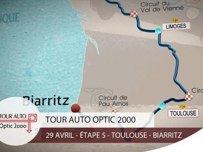 Tour Auto | Étape 5 : Toulouse - Biarritz