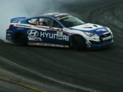Formula Drift 2012 avec Hyundai - Wall Speedway