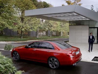 Nouvelle Mercedes Classe E: le futur, c'est maintenant