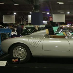 Rétromobile 2019 : la Porsche 550 A Spyder de 1957 en vidéo