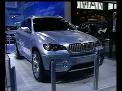 Stand BMW Detroit 2008