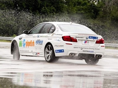 Record de drift BMW : 82 km en M5