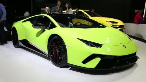 Mondial de l'Auto 2018 : la Lamborghini Huracan Performante en vidéo