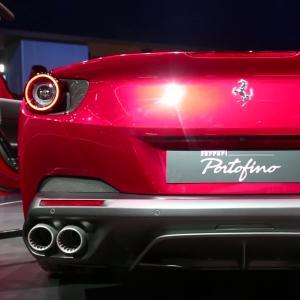 Francfort 2017 : Ferrari Portofino