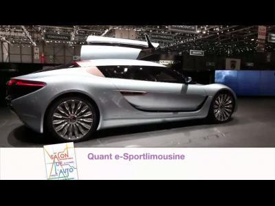 Genève 2014 : Quant e-Sportlimousine