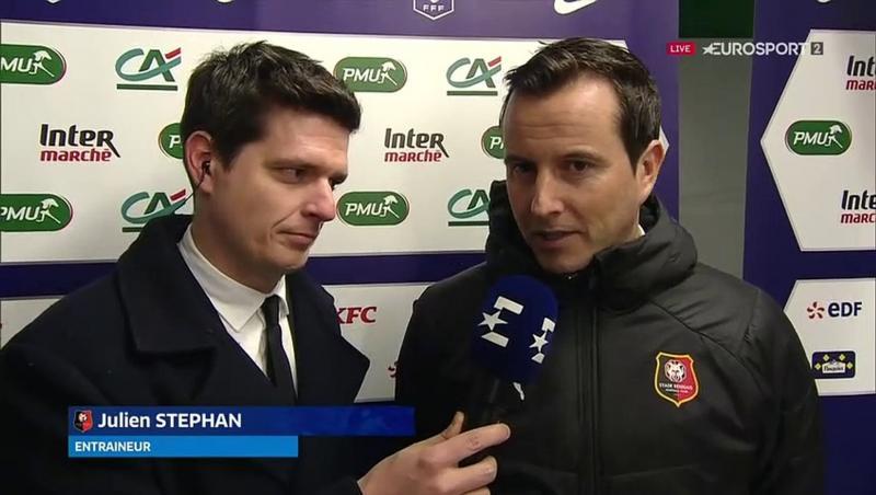 """Julien Stéphan : """"Ils nous ont posé des problèmes dans le jeu"""""""
