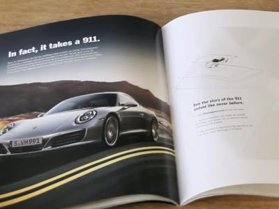 Porsche se lance dans la pub holographique