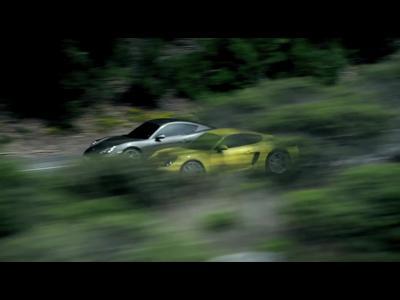 La nouvelle Porsche Cayman