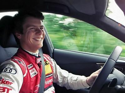 Adrien Tambay nous parle de l'Audi RS7
