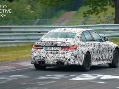 La nouvelle BMW M3 G80 (2021) a été aperçue en séance d'entraînement sur le Nürburgring