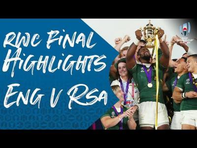 Angleterre - Afrique du Sud : le résumé de la victoire des Springboks en finale