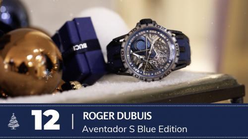 #11 Roger Dubuis Aventador S Blue Edition