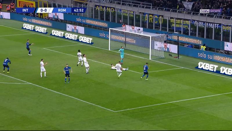 Inter Milan - AS Rome : mauvaise opération pour les Nerazzurri