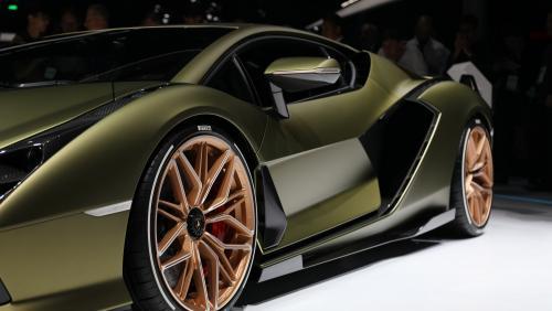 Lamborghini Sian : notre vidéo au Salon de Francfort 2019