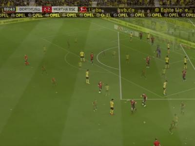 Borussia Dortmund - Hertha Berlin sur FIFA 20 : résumé et buts (Bundesliga - 30e journée)