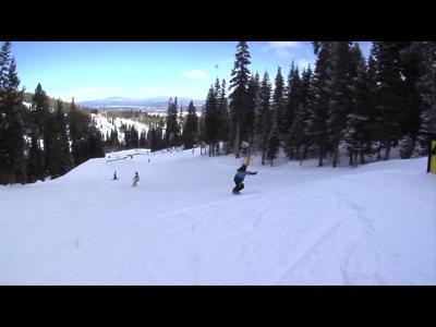 12 ans et professionnel de snowboard !