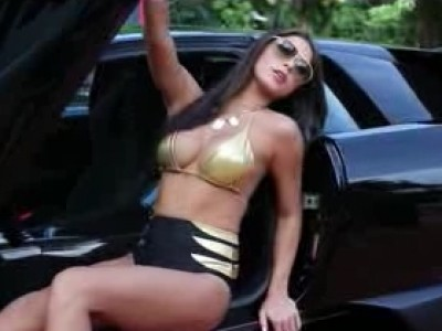 Vous allez aimer Arianny Celeste et ses supercars