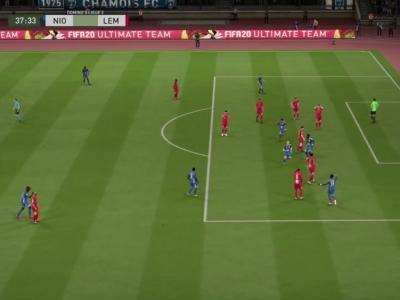 Chamois Niortais FC - Le Mans FC sur FIFA 20 : résumé et buts (L2 - 30e journée)
