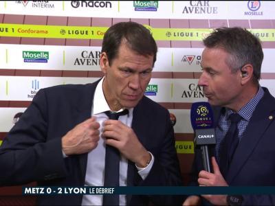 La réaction de Rudi Garcia après Metz / OL - Late Football Club