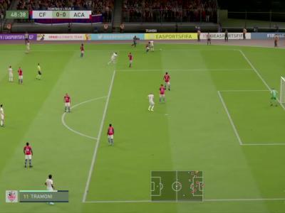 Clermont Foot 63 - AC Ajaccio sur FIFA 20 : résumé et buts (L2 - 33e journée)