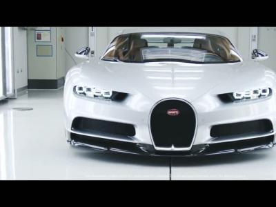 Assistez à la naissance des premières Bugatti Chiron