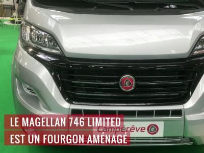 Camping-car : le Campérêve Magellan 746 Limited en vidéo au Salon des Véhicules de Loisirs