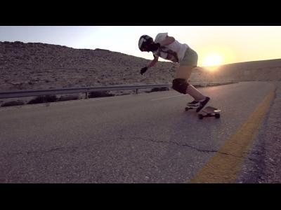 L'Israël en skateboard