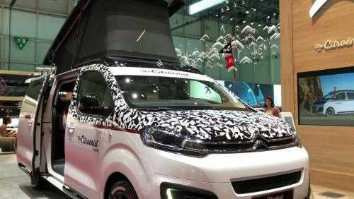 Salon de Genève 2019 : le concept Citroën SpaceTourer The Citroënist en vidéo