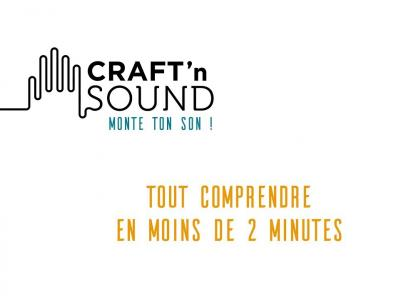 Craft'n Sound : une enceinte Made in France à monter soi-même