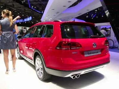 Mondial Auto 2014 : Volkswagen Golf Alltrack
