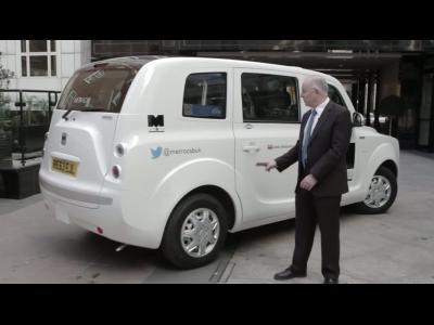 Le taxi londonien électrique de Frazer-Nash en vidéo