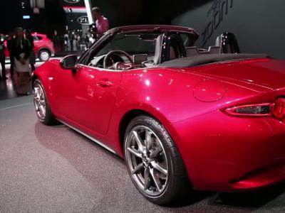 Mondial Auto 2014 : Mazda MX5