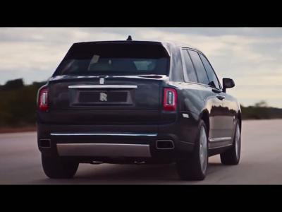 Le Rolls-Royce Cullinan en vidéo