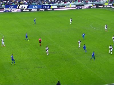 Juventus - Sassuolo : la Juve accrochée !