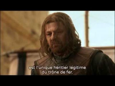 Game of Thrones | S1E9 : la mort de Ned Stark