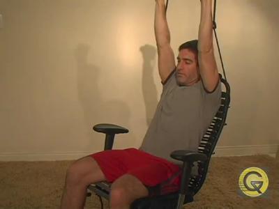 Chaise Gymygym pour faire du sport au bureau